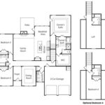Hawthorne single-family floor plan