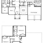 Edgewood single-family floor plan.