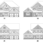 HighPoint at Laurel Canyon's Stoneridge floor plan elevations