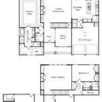 Stoneridge single-family floor plan.