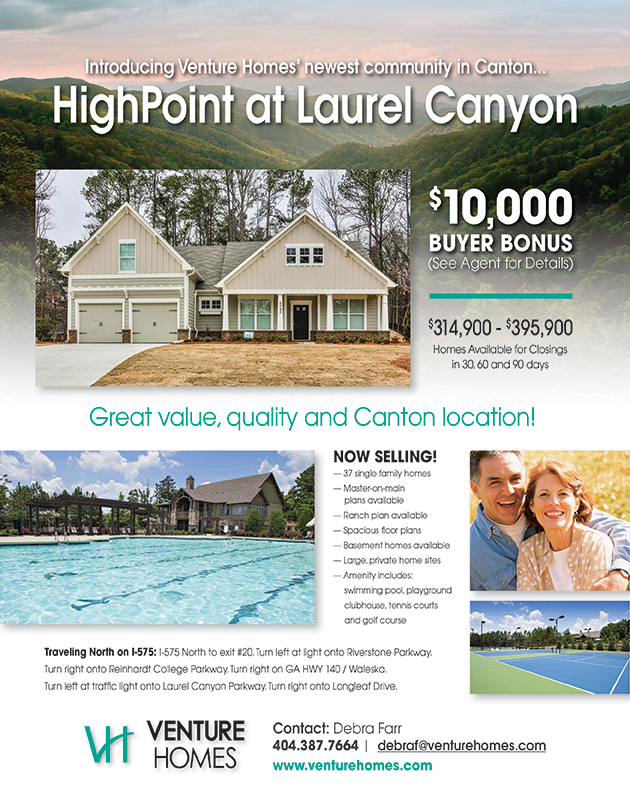 HighPoint at Laurel Canyon Marketing Flyer