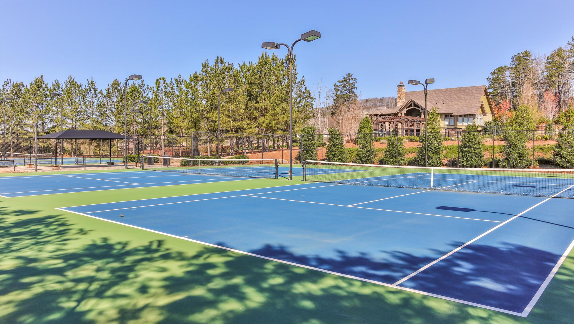 HighPoint at Laurel Canyon Tennis Courts