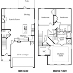 Morningside 3BR-A single-family floor plan.
