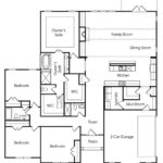 Venture Communities' single-family Fairhaven 1 floor plan.