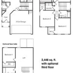 Georgetown single-family floor plan.