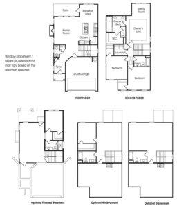 Grant single-family floor plan.