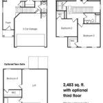 Lexington single-family floor plan.