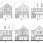 Heritage Ridge's Lincoln single-family floor plan elevations