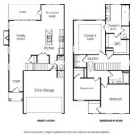 Lincoln single-family floor plan.
