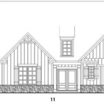 Carter Grove's Fairhaven 2 single-family floor plan elevations