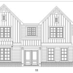 Carter Grove's Fairmont 2 single-family floor plan elevations