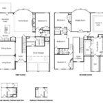 Laurel single-family floor plan