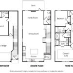 Piedmont 4BR-A single-family floor plan