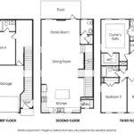 Piedmont 4BR-B single-family floor plan