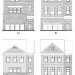 Heritage Ridge's Piedmont single-family floor plan elevations