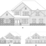 Carter Grove's Stonecroft 2 single-family floor plan elevations