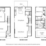 Townsend 4BR-A single-family floor plan