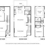 Townsend 4BR-B single-family floor plan