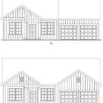 Brookstone Creek's Brookmire single-family floor plan elevations