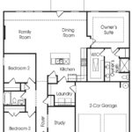 Brookmire single-family floor plan