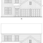 Brookstone Creek's Dunbrook single-family floor plan elevations
