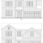 Brookstone Creek's Fairbrook single-family floor plan elevations