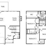 Somerbrook single-family floor plan