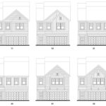Old Mill's Georgetown single-family floor plan elevations