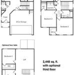 Georgetown single-family floor plan