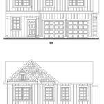 Brookstone Creek's Lanier single-family floor plan elevations