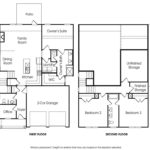 Lanier single-family floor plan