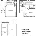 Lexington single-family floor plan