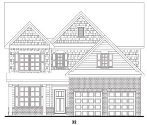HighPoint at Laurel Canyon's Crestbrook single-family floor plan elevations