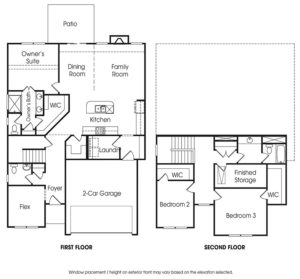 Sidney single-family floor plan